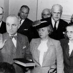 Truman takes the oath