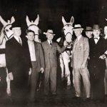Truman at a Democratic rally