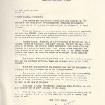 Letter from Truman introducing the book Jackson County
