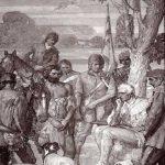 Daniel Boone at Judgment Tree.