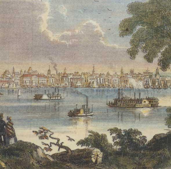 St. Louis, MO, 1854