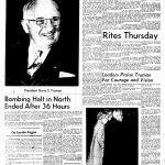 Truman's death announcement in KC Star