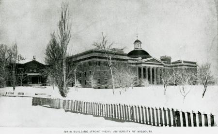 Academic Hall photograph.
