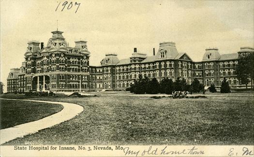 State Hospital No. 3 postcard.