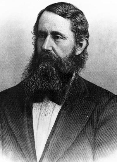 B. Gratz Brown portrait