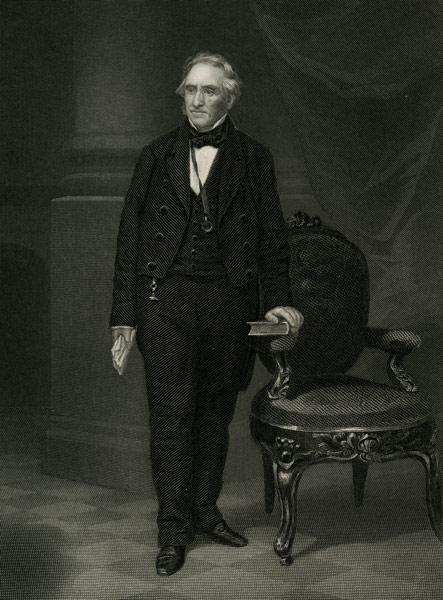 Full length view of Thomas Hart Benton