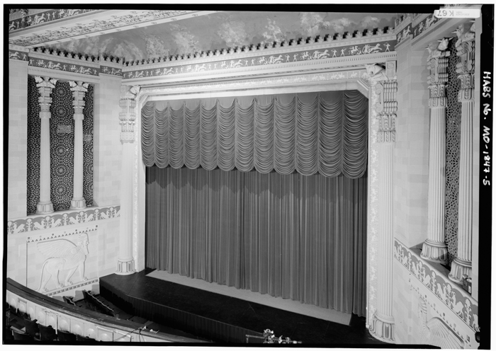 stage of the Missouri Theater