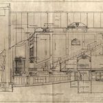 Cooper Theatre cross-section drawing