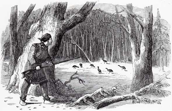 Boy hunting