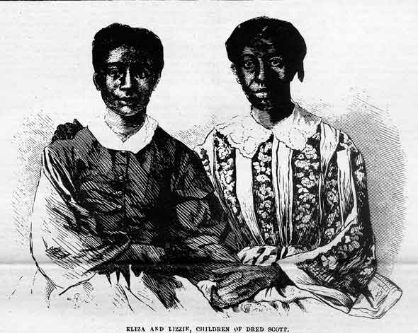 Eliza and Lizzie Scott