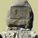Boone gravesite marker.