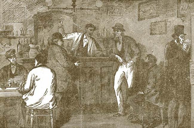 Tenderloin District saloon