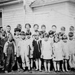 Middle River School 1933 Class Picture