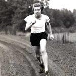 Stephens running on track