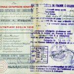 Stephens passport pages