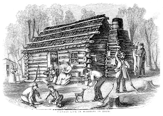 Pioneer Life in Missouri.
