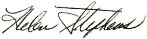 Stephens' signature
