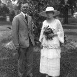 wedding photo of Harry and Bess Truman