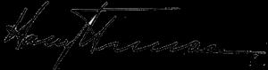 Truman signature
