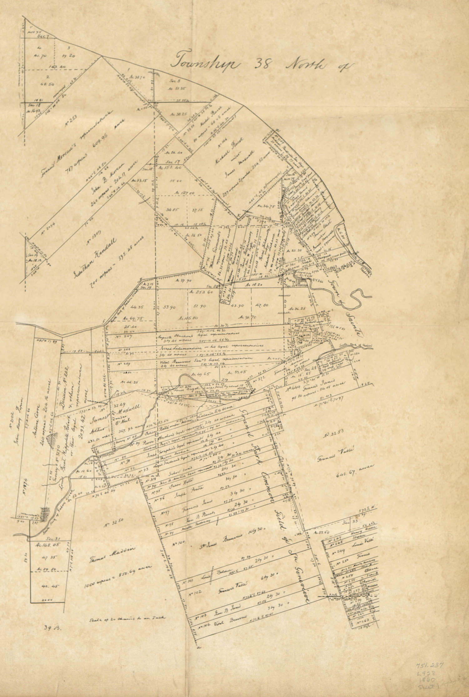 map of Ste. Genevieve