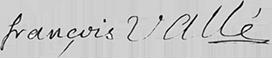Valle signature