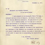 John Hay letter