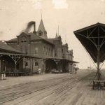 Wabash Railroad Tracks, Moberly, 1902