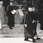 General Omar Bradley receiving honorary degree
