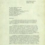 Lucile Bluford's letter of appeal, pg 1