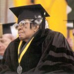 Honorary degree recipient Lucile Bluford