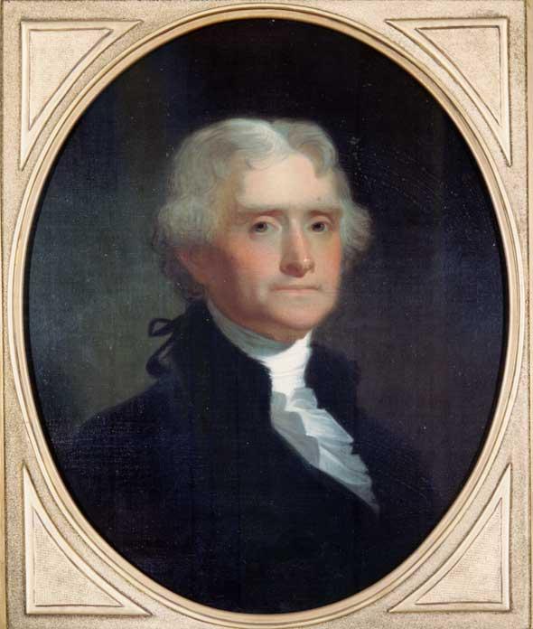 Thomas Jefferson, 1856.