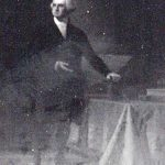 Photograph of oil painting of George Washington