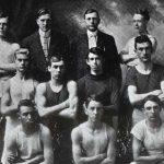 Moberly track team, 1910
