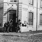 Bradley's soldiers in Belgium, 1944