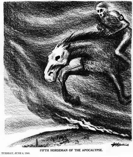 Fifth Horseman of the Apocalypse by Daniel Fitzpatrick