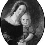 Sarah Elizabeth Hutchinson and son Newton.