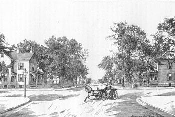 Carondelet, circa 1891.