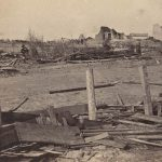 Marshfield after 1880 tornado
