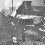 Boone at piano