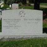 Bradley tombstone