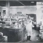 Carver in his laboratory