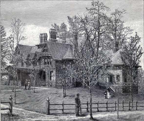 Twain's Hartford house