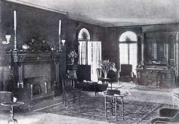 Stormfield living room