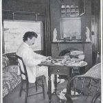 Mark Twain at work