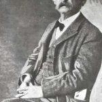 Samuel Clemens in 1902.
