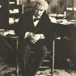Mark Twain in 1908.
