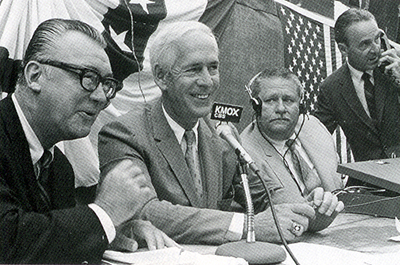 Harry Caray and Jack Buck