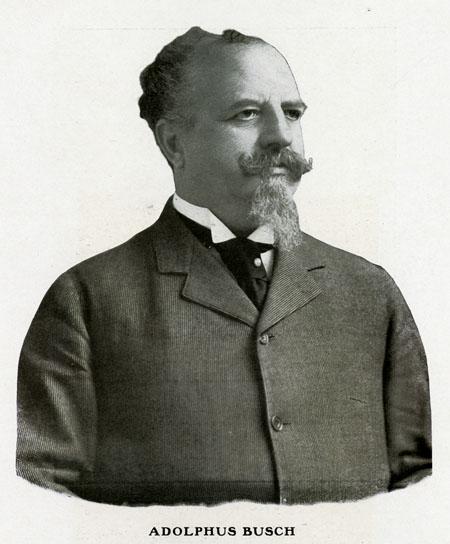 Adolphus Busch, circa 1906.