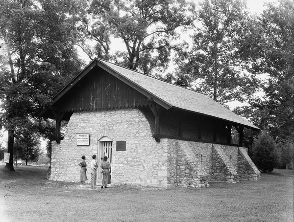Fort Chartres powder magazine