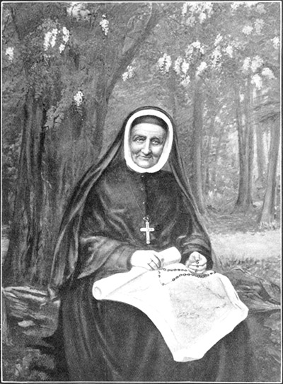 Sister Duchesne late in life